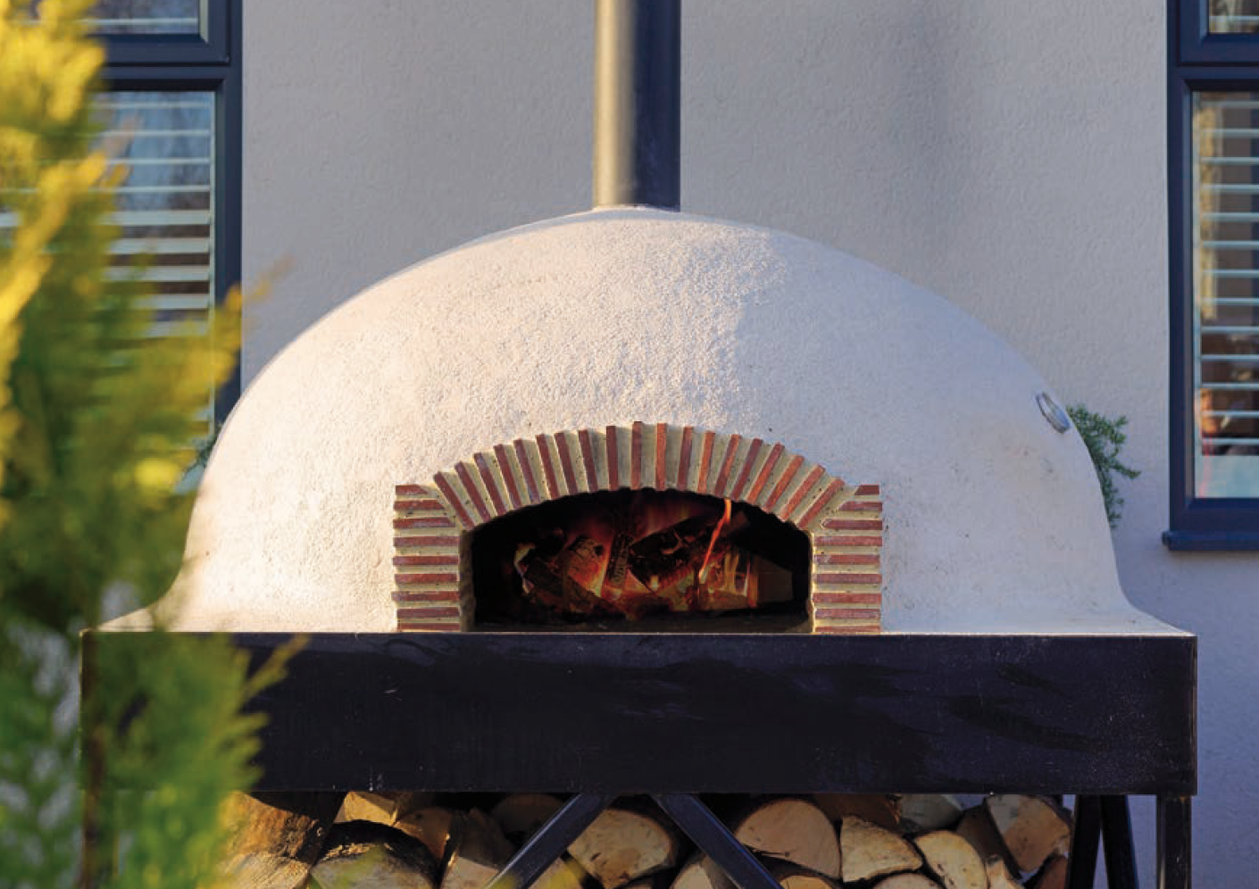 Pilkington Homes & Garden Kitchens outdoor living & dining, pizza ovens, asado crosses, parrilla grills garden furniturewood fired cooking, Pizza Oven Hand-made Oxfordshire004